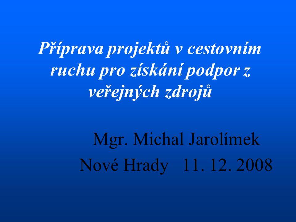 Mgr.Michal Jarolímek Nové Hrady 11. 12.