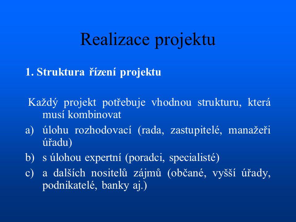 Realizace projektu 1.