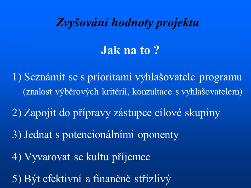 Realizace projektu 4.