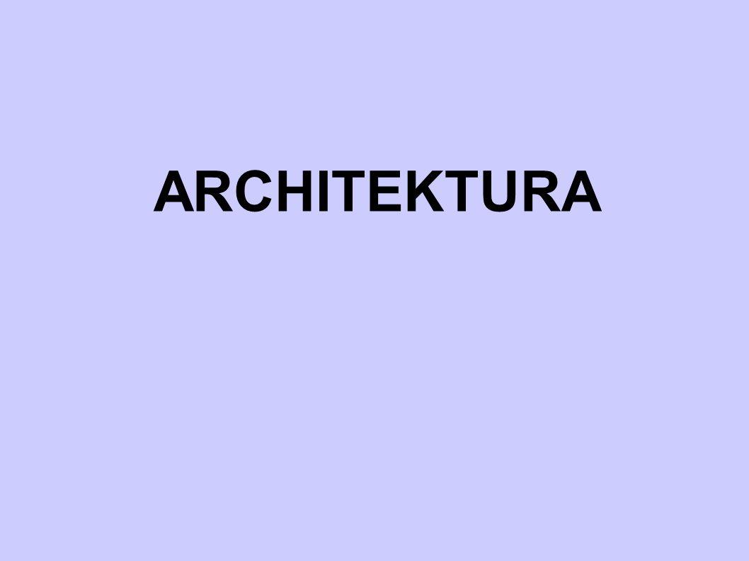 Hlavní rysy architektury  hl.
