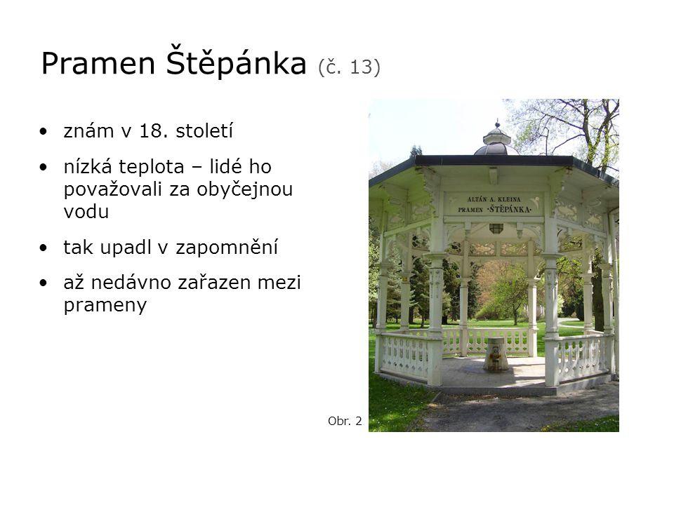 Vřídelní kolonáda •stavěna v letech 1971 – 1975 •architekt Jaroslav Otruba – nacionalistický sloh •slouží jako zastřešení Vřídelních váz •původní Vřídelní kolonáda byla z r.