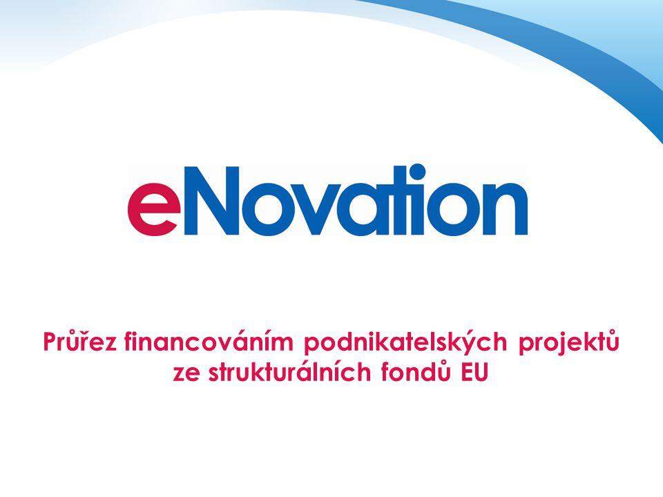 Průřez financováním podnikatelských projektů ze strukturálních fondů EU