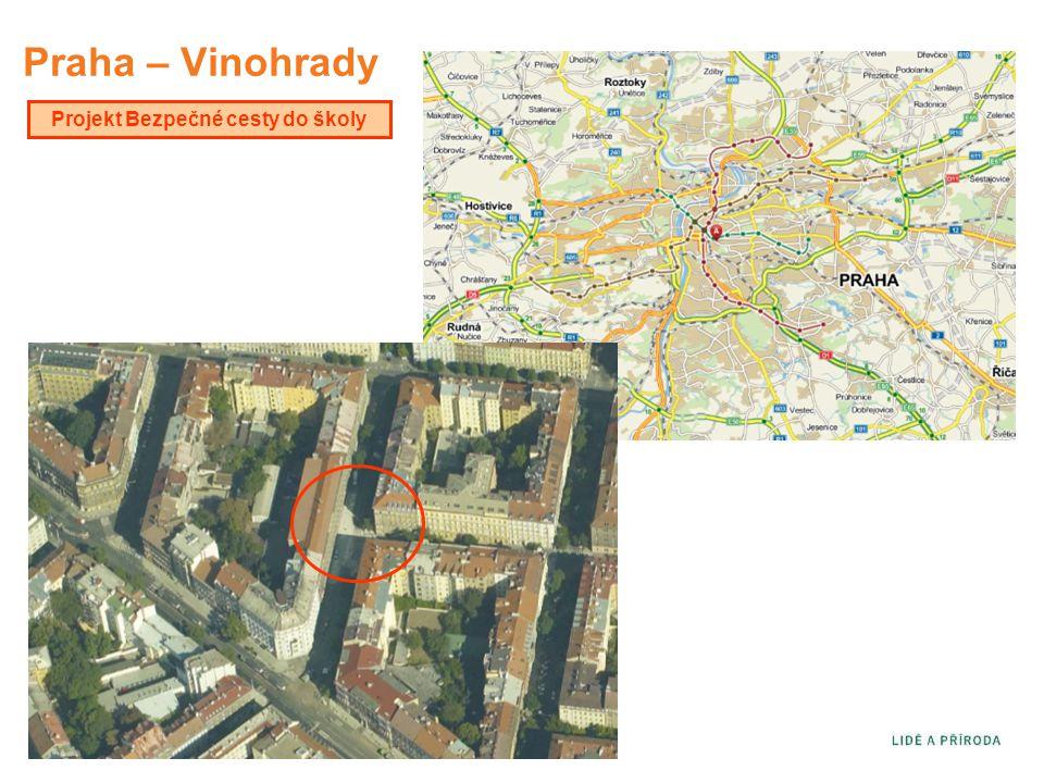 Praha – Vinohrady Projekt Bezpečné cesty do školy
