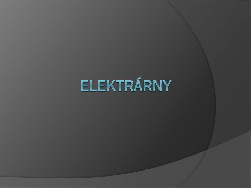TEPELNÉ ELEKTRÁRNY  Princip: spalováním paliva získáme páru, ta roztočí turbínu, která je spojena s generátorem.