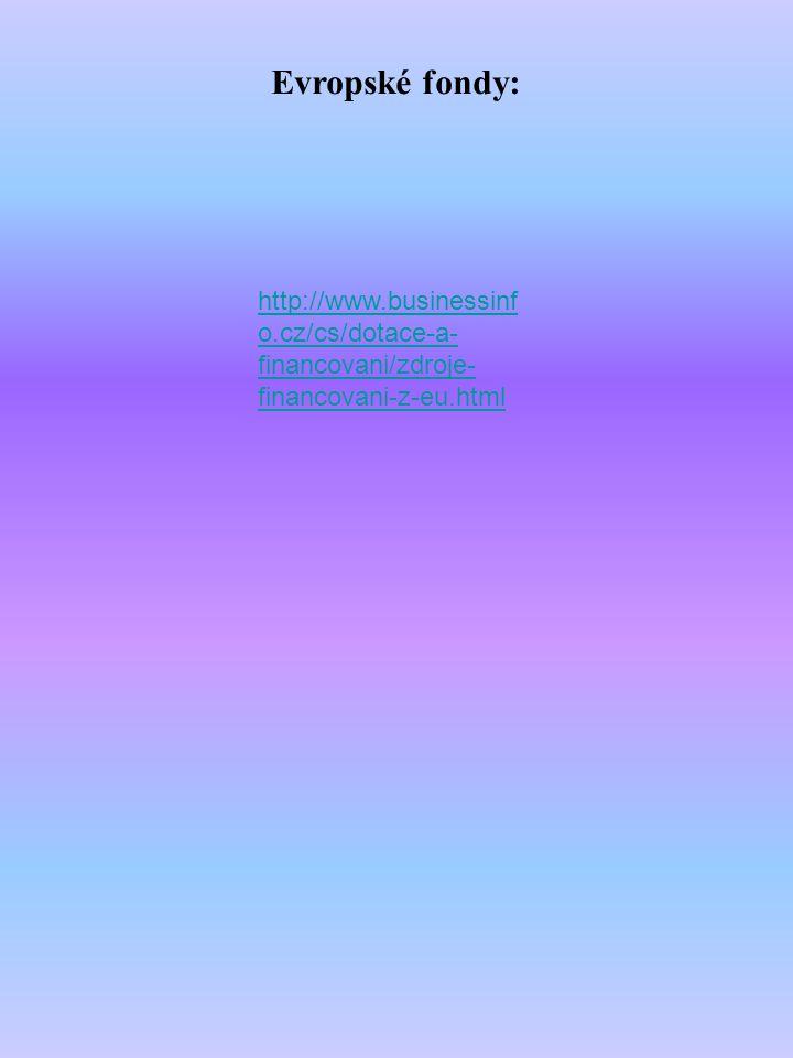 Zdroje informací: http://cs.wikipedia.orgt Zákon o státním rozpočtu na rok 2013 Zákon o rozpočtových pravidlech www.mfcr.cz www.zakonyprolidi.cz www.businessinfo.cz