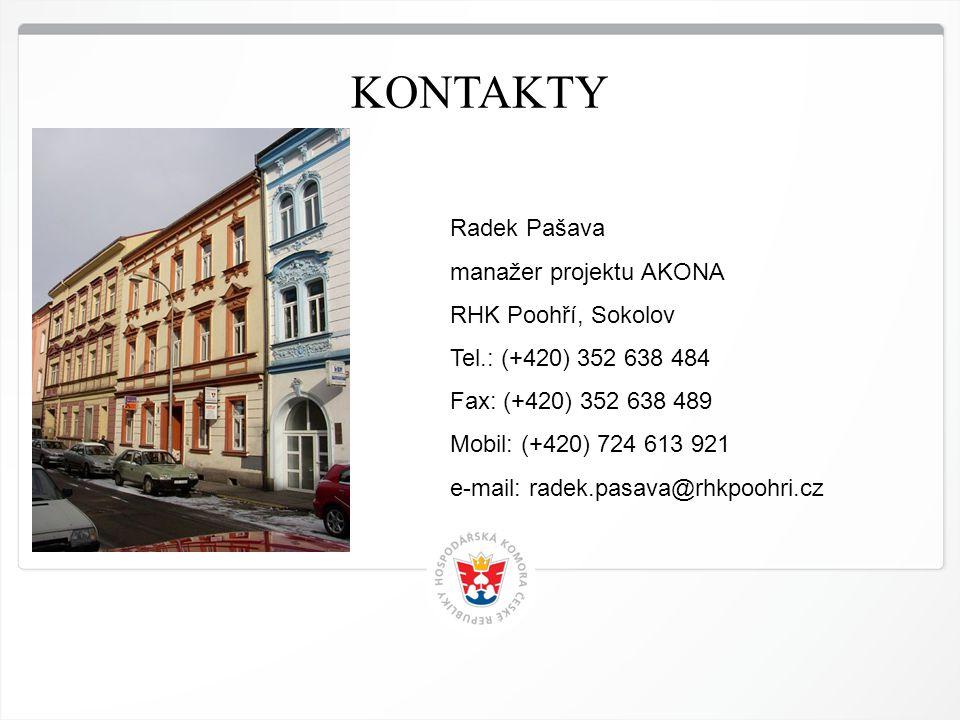 11 HK ČR, 1.7.2014 KONTAKTY Radek Pašava manažer projektu AKONA RHK Poohří, Sokolov Tel.: (+420) 352 638 484 Fax: (+420) 352 638 489 Mobil: (+420) 724