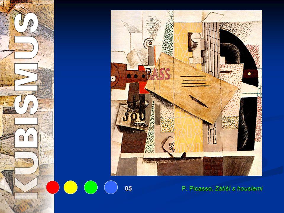 05 P. Picasso, Zátiší s houslemi