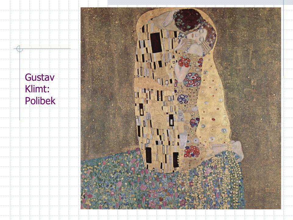 Gustav Klimt: Polibek