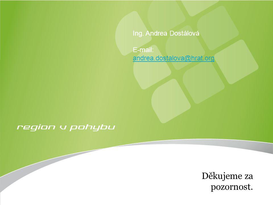 Eko-energie Strana 9 Děkujeme za pozornost. Ing. Andrea Dostálová E-mail: andrea.dostalova@hrat.org