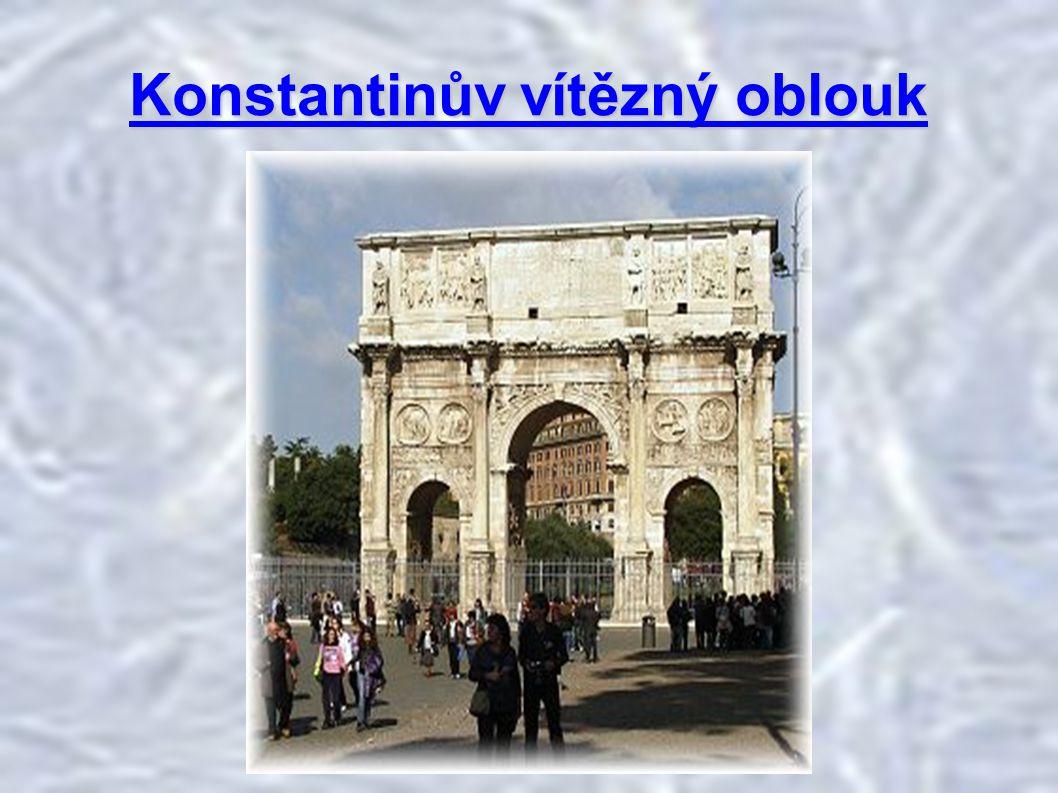 Konstantinův vítězný oblouk