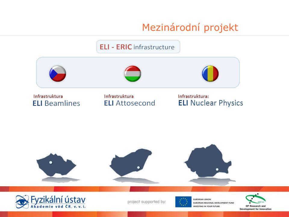 Mezinárodní projekt Infrastruktura Infrastruktura: ELINuclear Physics