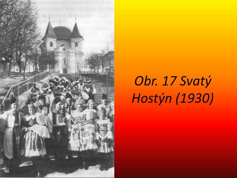 Obr. 17 Svatý Hostýn (1930)