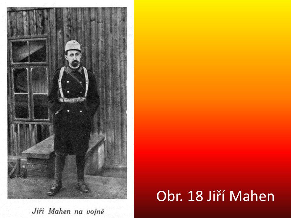 Obr. 18 Jiří Mahen