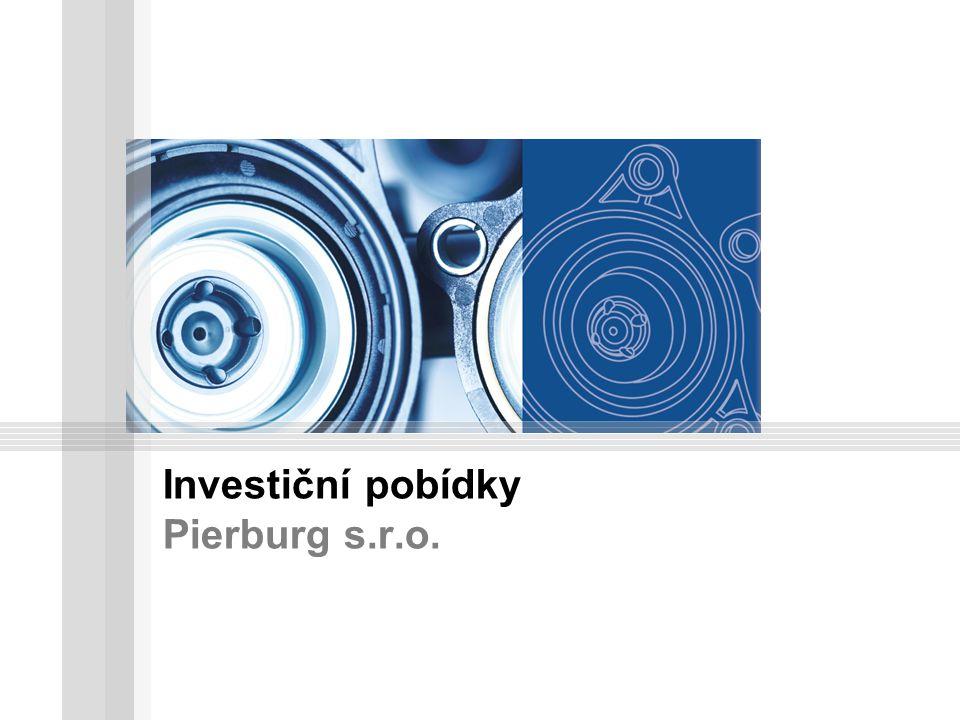 Investiční pobídky Pierburg s.r.o.
