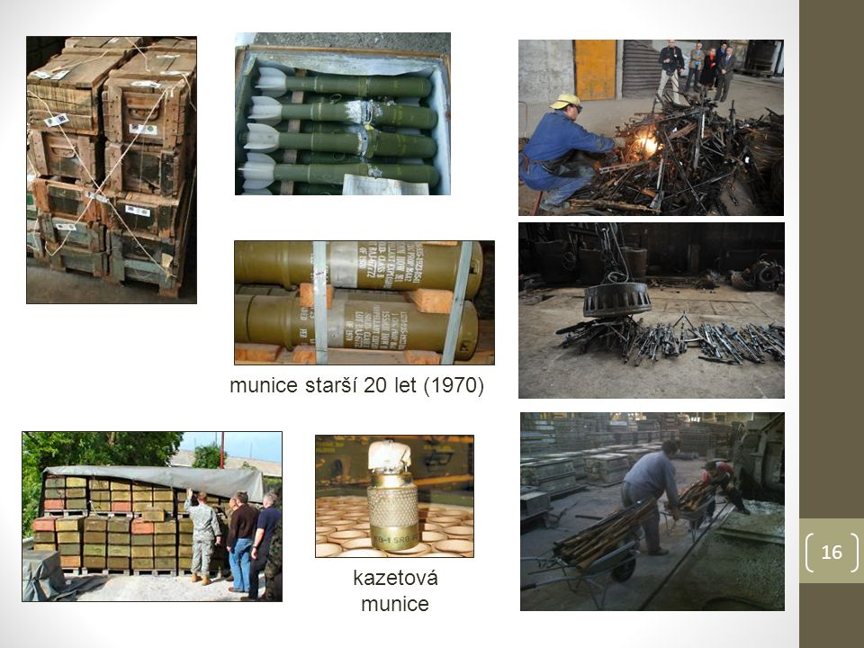 kazetová munice munice starší 20 let (1970) 16