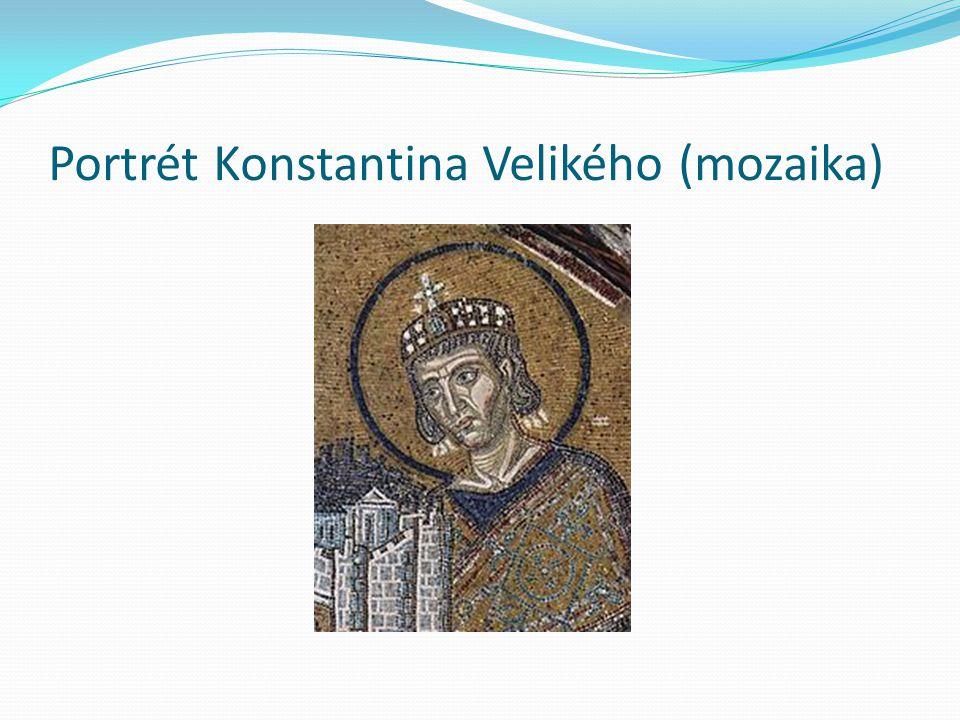 Portrét Konstantina Velikého (mozaika)