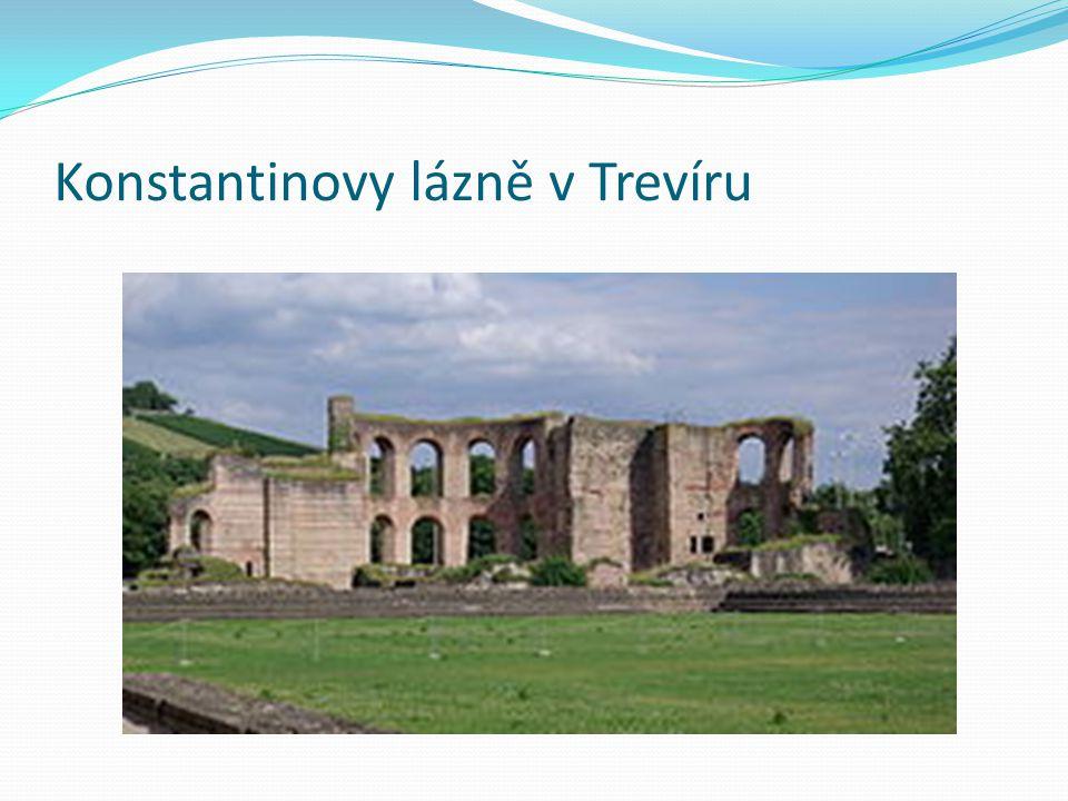 Konstantinovy lázně v Trevíru