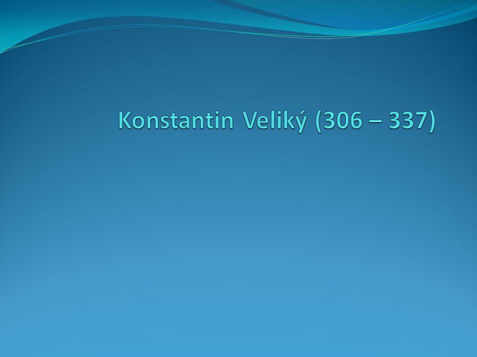 Otázky 1.Co se stalo roku 313. 2. Proč císař Konstantin svolal nikajský církevní sněm.