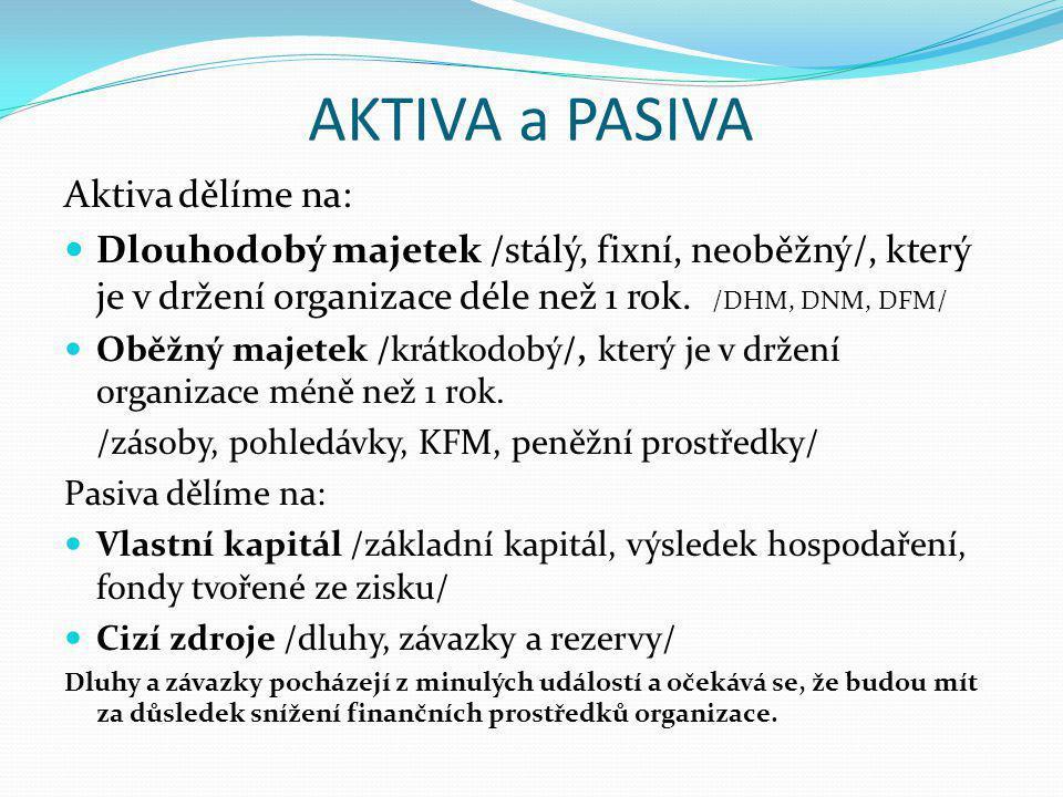 AKTIVA a PASIVA Organizace X s.r.o.: Stroj200 tis.