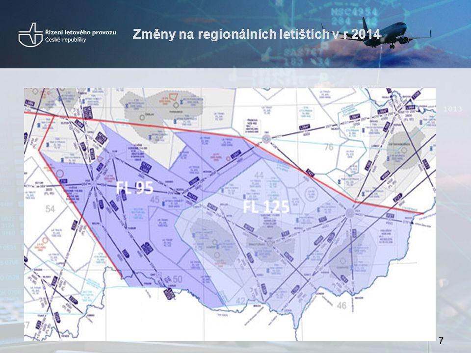 Změny na regionálních letištích v r 2014 7