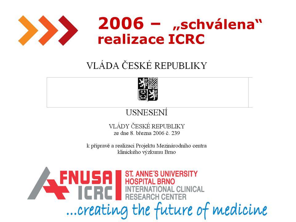 """11 2006 – """"schválena realizace ICRC Regionální inovační strategie Jihomoravského kraje"""