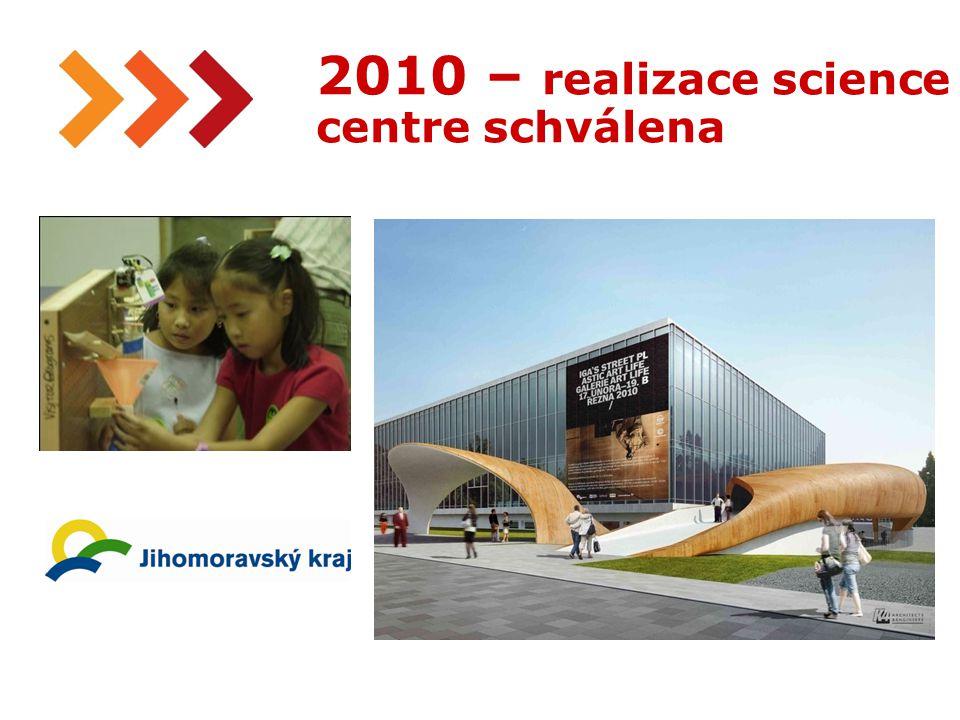 20 2010 – realizace science centre schválena