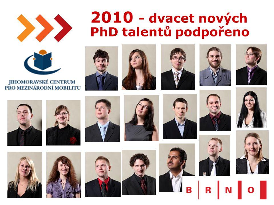 21 2010 - dvacet nových PhD talentů podpořeno