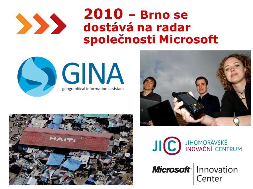 22 The Gates Notes, December 14th 2010 2010 – Brno se dostává na radar společnosti Microsoft
