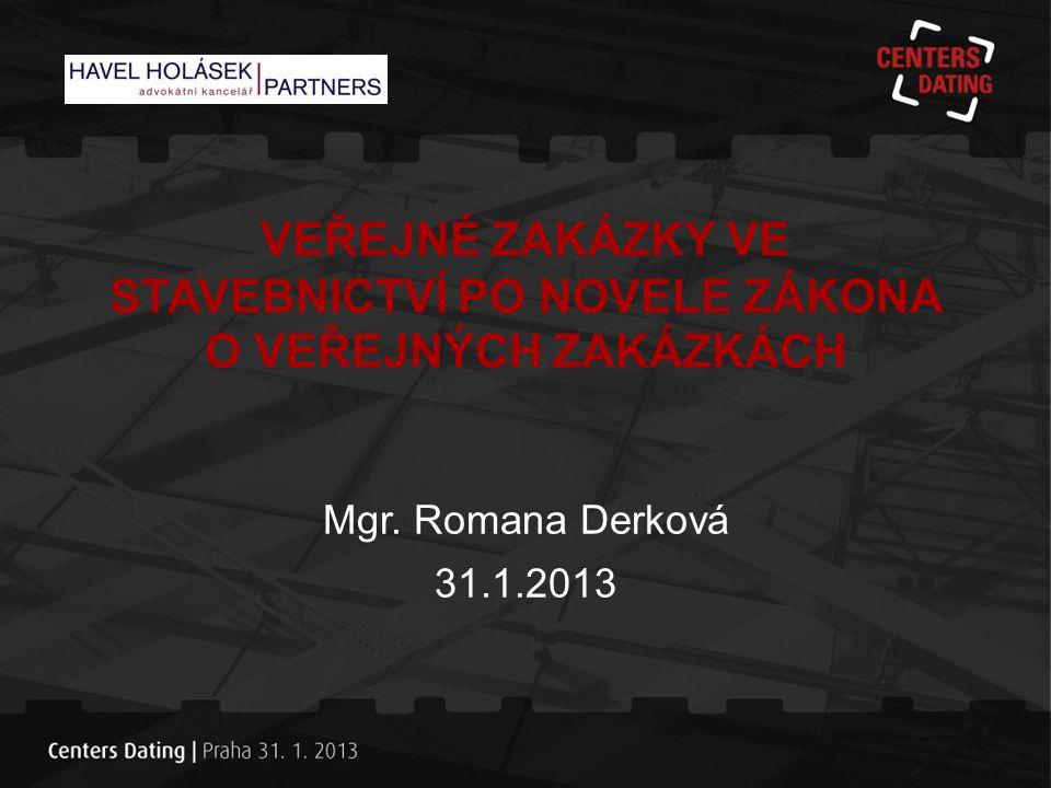 Dopad novely na stavební zakázky •Změny s účinností od 1.4.2012 •Přísnější zadávací režimy – stavby od 3 mil.