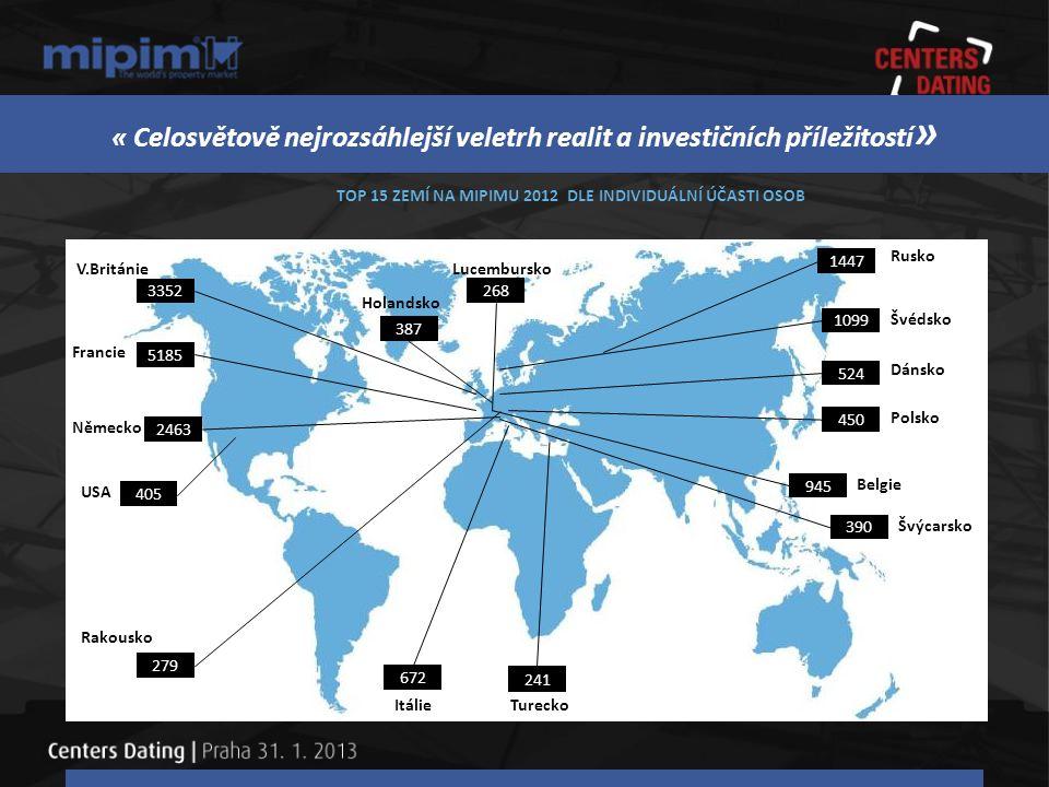 MIPIM 2013 12.– 15.