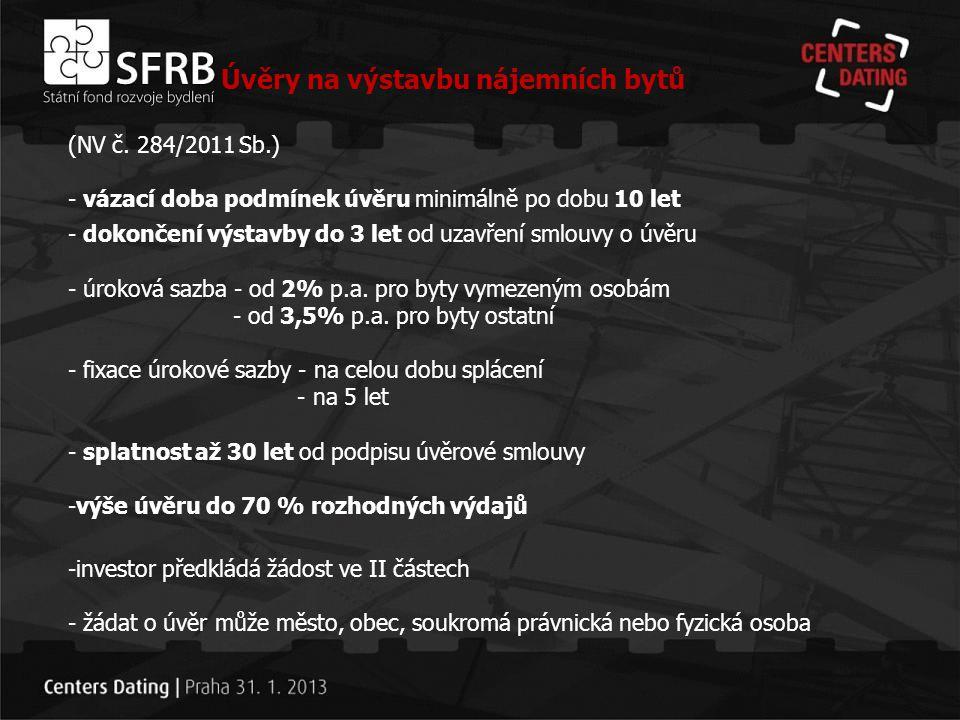 Děkuji za pozornost komunikace@sfrb.cz www.sfrb.cz Speciální úvěrová kalkulačka na:
