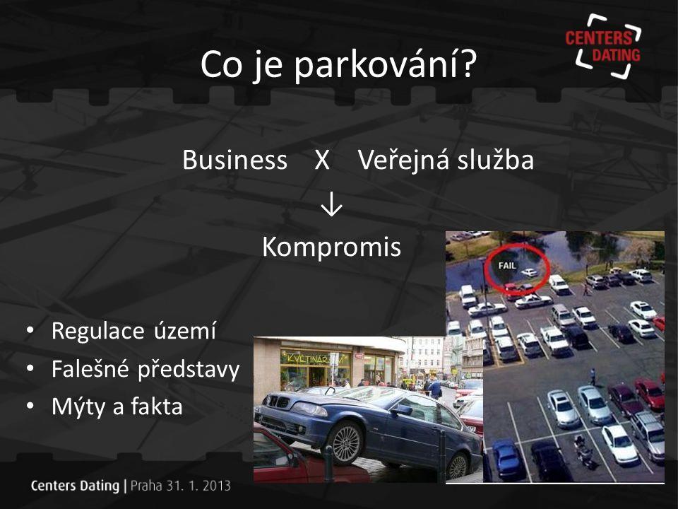 Parkování ve městech Není pravda, že: • Parkování je skvělý business • Občané města mají vždy parkovat bezplatně • Ostatní parkující zaplatí jakoukoliv cenu • Řidiči si garáže najdou • Čím větší garáže, tím lépe • Luxusní garáže jsou vizitkou města
