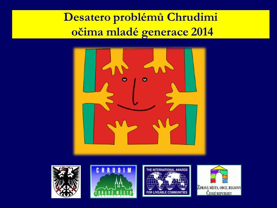 Desatero problémů Chrudimi očima mladé generace 2014