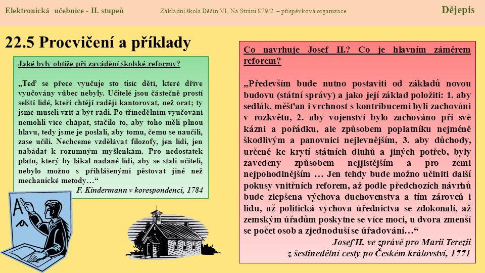 22.6 Něco navíc pro šikovné Elektronická učebnice - II.