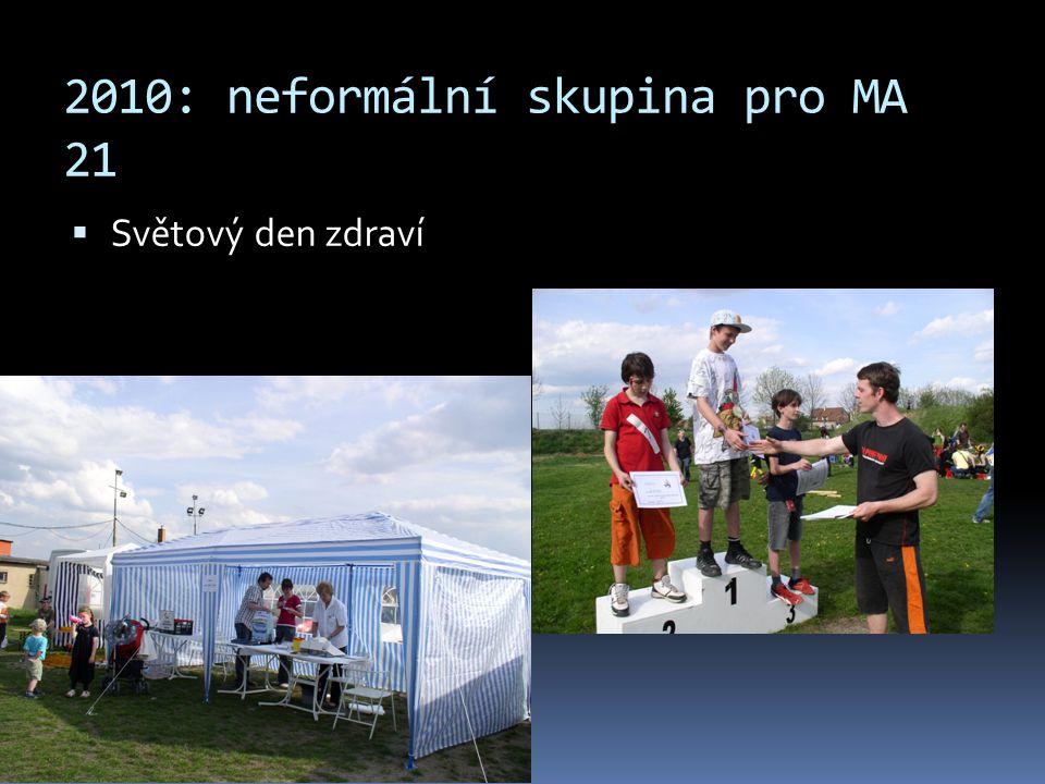 2010: neformální skupina pro MA 21  Světový den zdraví