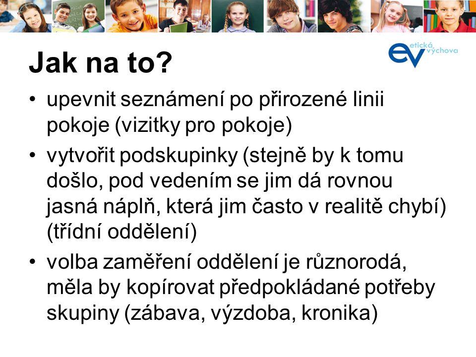 •ASET = Adoptuj si školu pro etickou výchovu •Firemní sponzorství pro konkrétní školu •www.etickavychova.cz/ops/asetwww.etickavychova.cz/ops/aset Možnosti financování