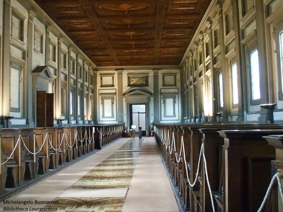 Michelangelo Buonarroti Bibliotheca Laurenziana