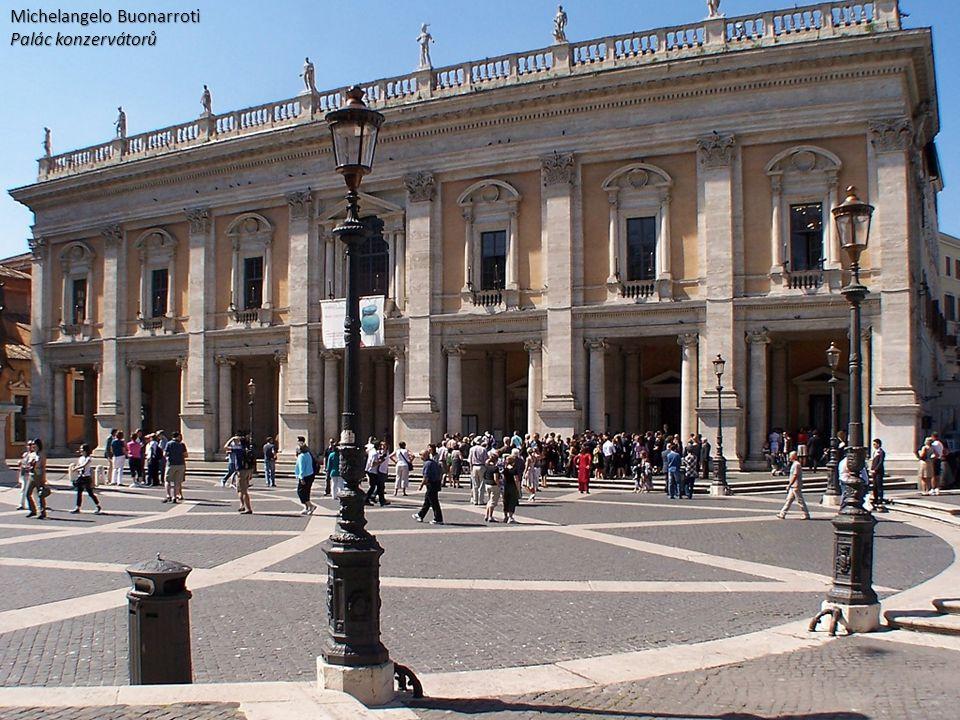 Michelangelo Buonarroti Palác konzervátorů