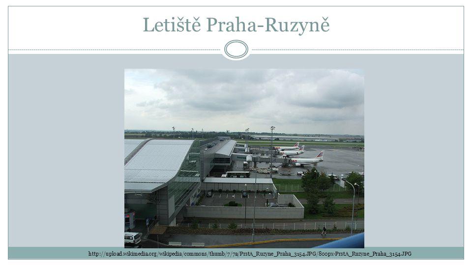 Letiště Praha-Ruzyně http://upload.wikimedia.org/wikipedia/commons/thumb/7/7a/PrstA_Ruzyne_Praha_3154.JPG/800px-PrstA_Ruzyne_Praha_3154.JPG