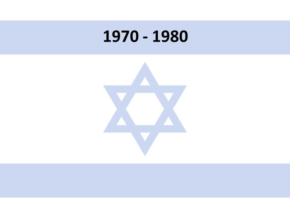 • Rozsáhlé vojenské dodávky: SSSR do arabských zemí, USA do Izraele • Na mnichovské olympiádě zabito 11 izr.