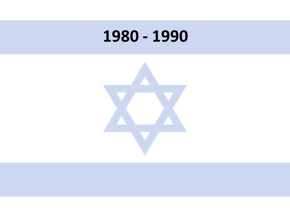 • První protesty izraelských vojáků proti chování armády na okupovaných územích • Červen – září 1982 – 1.