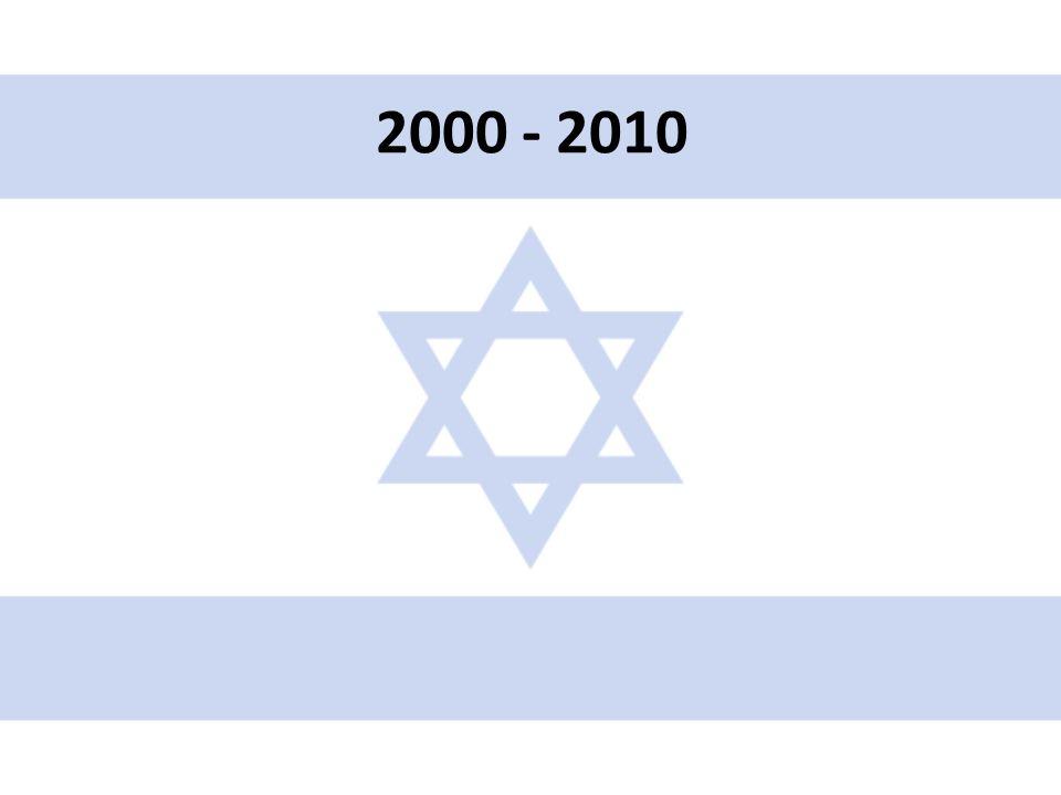 • V roce 2006 schválena výstavba bezpečnostní bariéry kolem Západního břehu (700 km, 90% ploty, 10% osmimetrová zeď) • Červenec – srpen 2006 – Druhá libanonská válka – Po ostřelování sev.