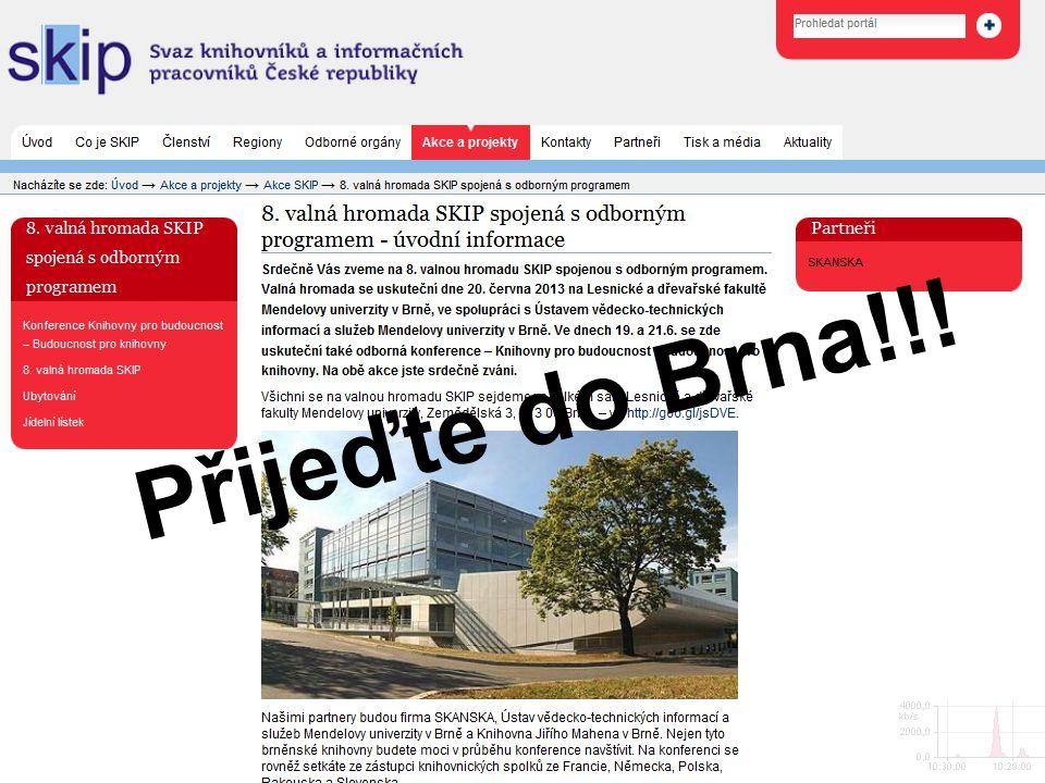 Přijeďte do Brna!!!