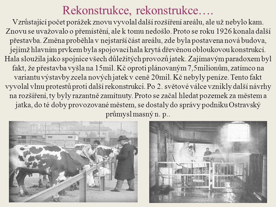 Rekonstrukce, rekonstrukce….