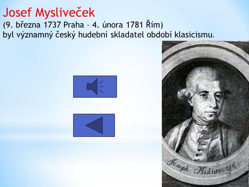 Jiří Antonín Benda ( 30. června 1722, Staré Benátky – 6. listopadu 1795, Sasko) byl významný český skladatel období klasicismu.
