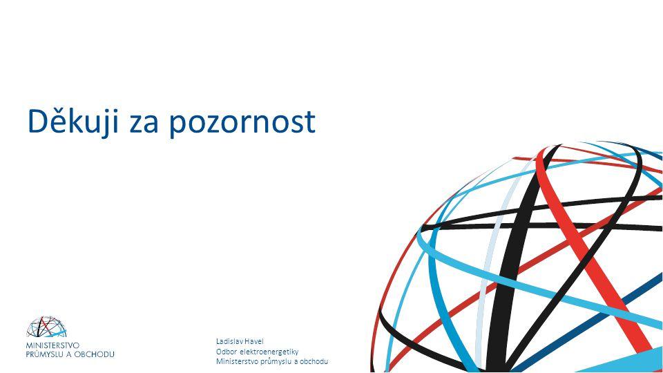 Ladislav Havel Odbor elektroenergetiky Ministerstvo průmyslu a obchodu Státní energetická koncepce Děkuji za pozornost