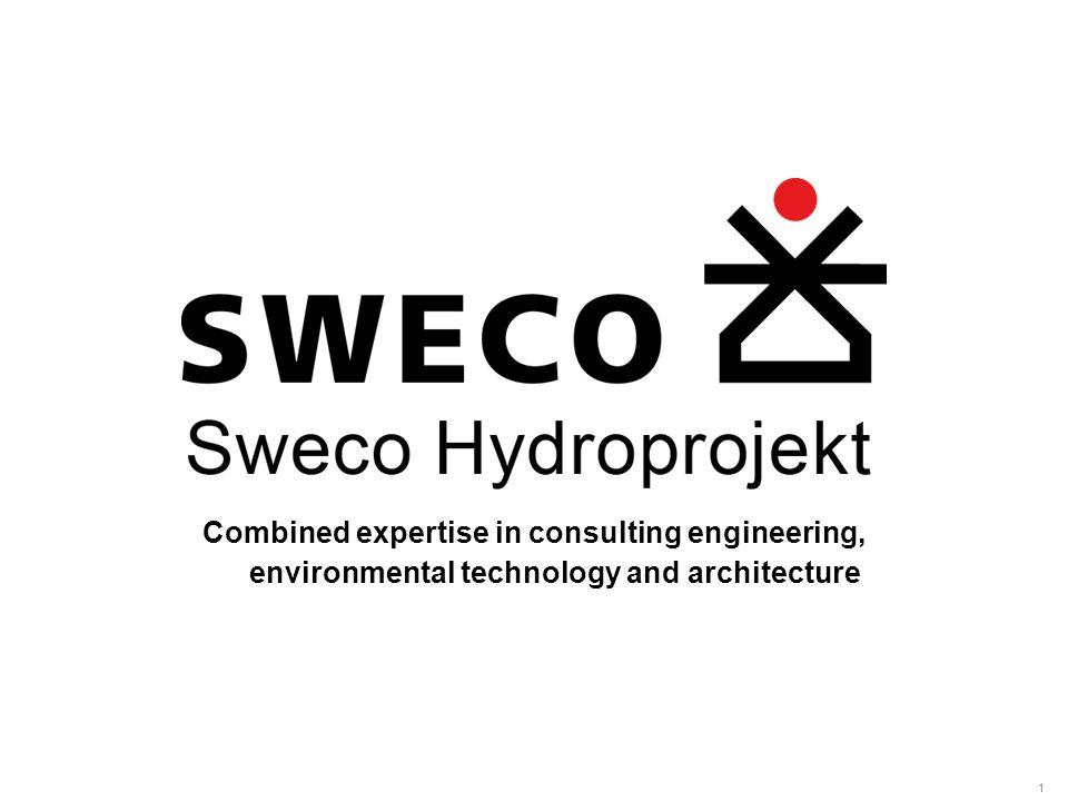 ◄ ► 2 Tým kvalifikovaných odborníků, základní předpoklad technicky správného a ekonomicky optimálního řešení rekonstrukce a modernizace úpraven vody Sweco Hydroprojekt a.s.
