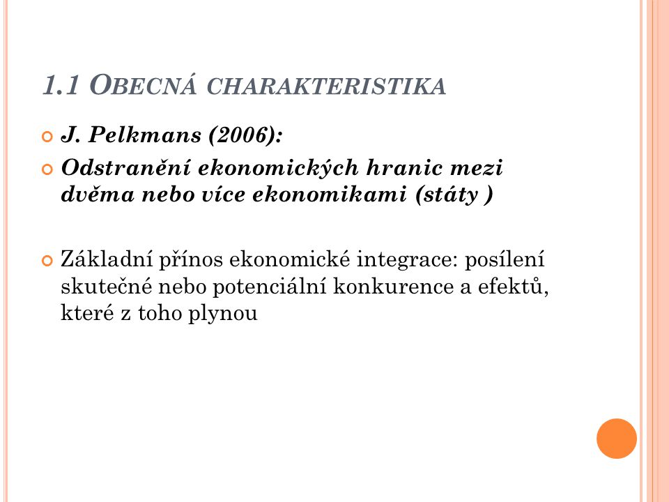1.1 O BECNÁ CHARAKTERISTIKA J.