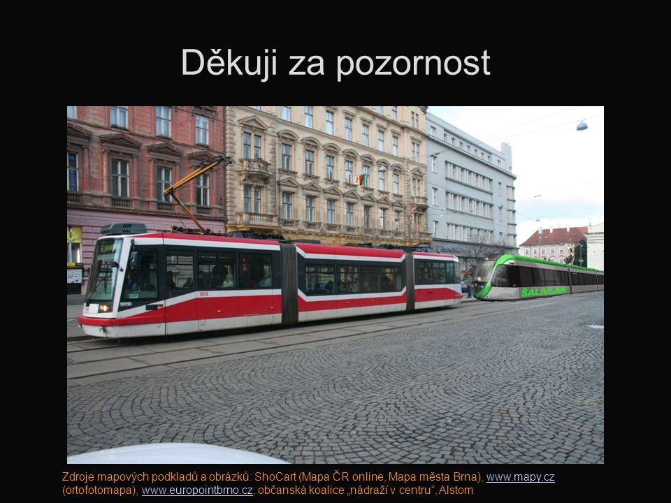 Děkuji za pozornost Zdroje mapových podkladů a obrázků: ShoCart (Mapa ČR online, Mapa města Brna), www.mapy.cz (ortofotomapa), www.europointbrno.cz, o