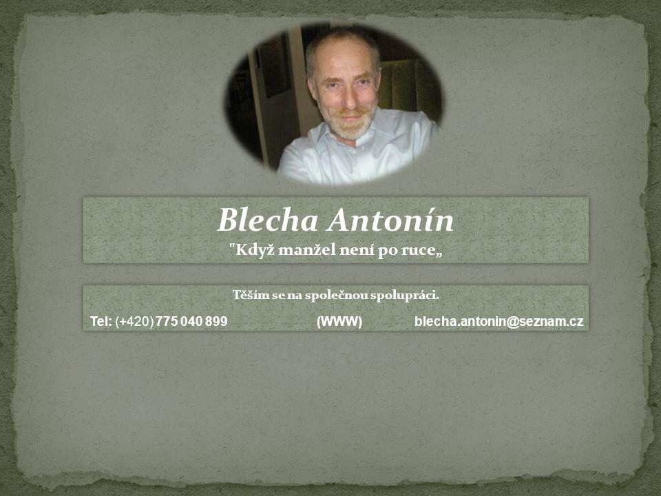 Blecha Antonín